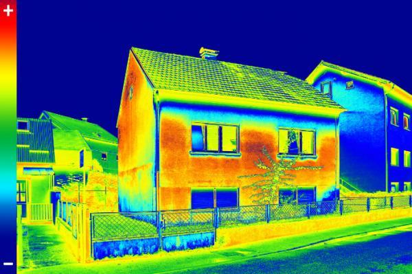 Energieberatung Wärmebild-Kamera